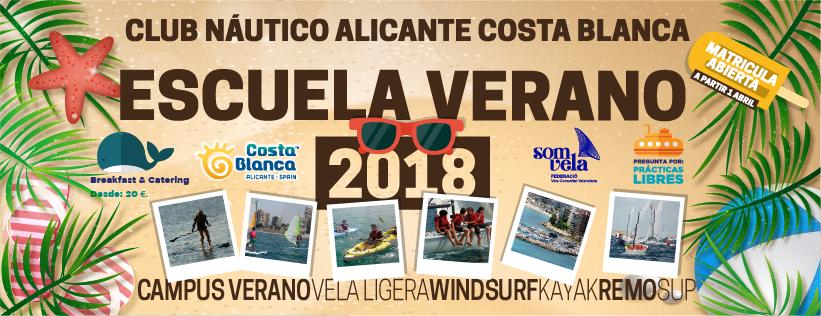 ESCUELA DEPORTES NÁUTICOS – VERANO 2018