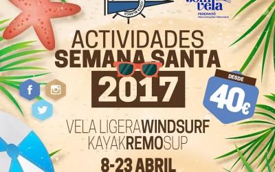 Semana Santa 2017 –  Actividades Náuticas