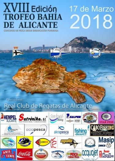 XVIII Trofeo Bahía de Alicante Pesca de Fondo