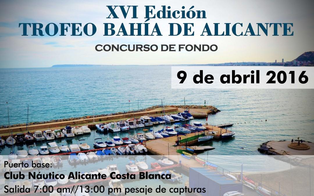 XVI Trofeo Bahía de Alicante 2016