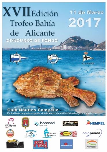XVII TROFEO BAHÍA DE ALICANTE –  11 marzo CN CAMPELLO
