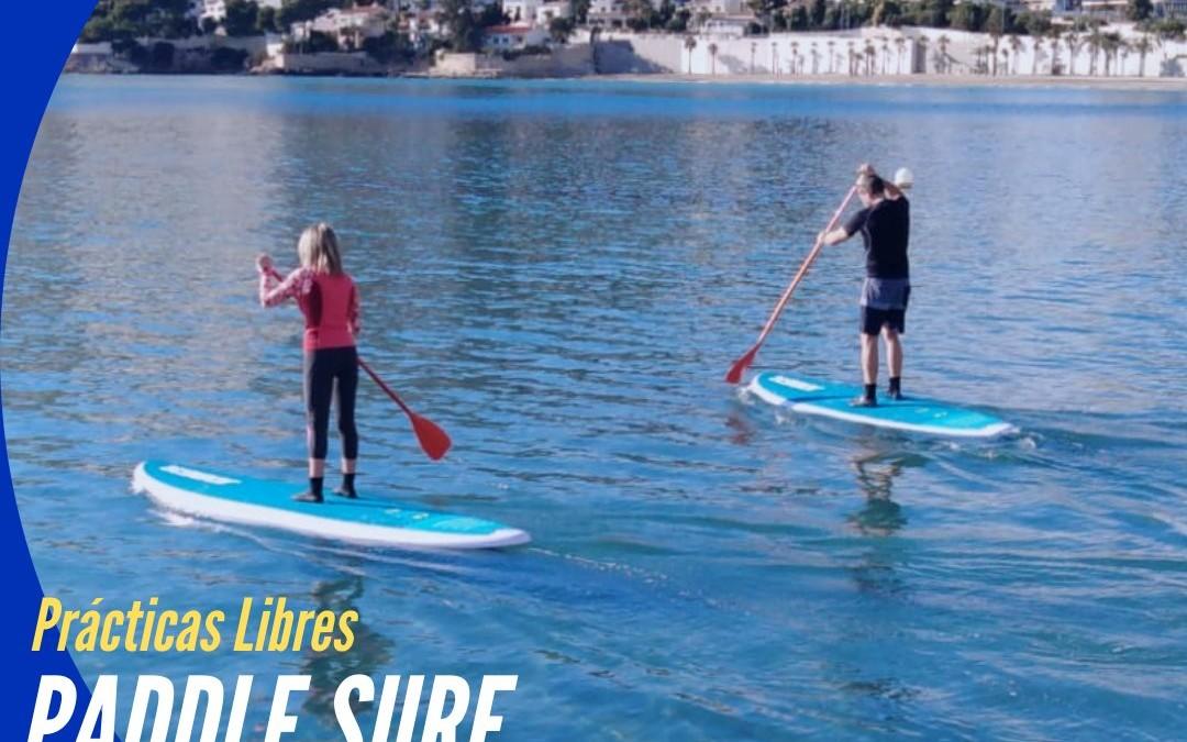 ¿Quieres practicar PADDLE SURF o PIRAGUA y no dispones de material?
