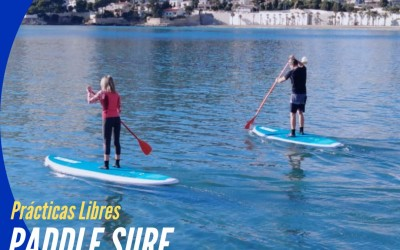 ¿Quieres practicar PADDLE SURF o PIRAGUA y no dispones de material?